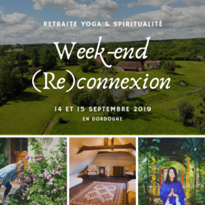 Week-end 14 et 15 septembre – acompte de réservation